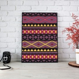 Boho tribal fucsia
