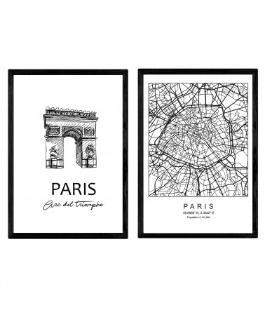 Pack de posters de Paris...